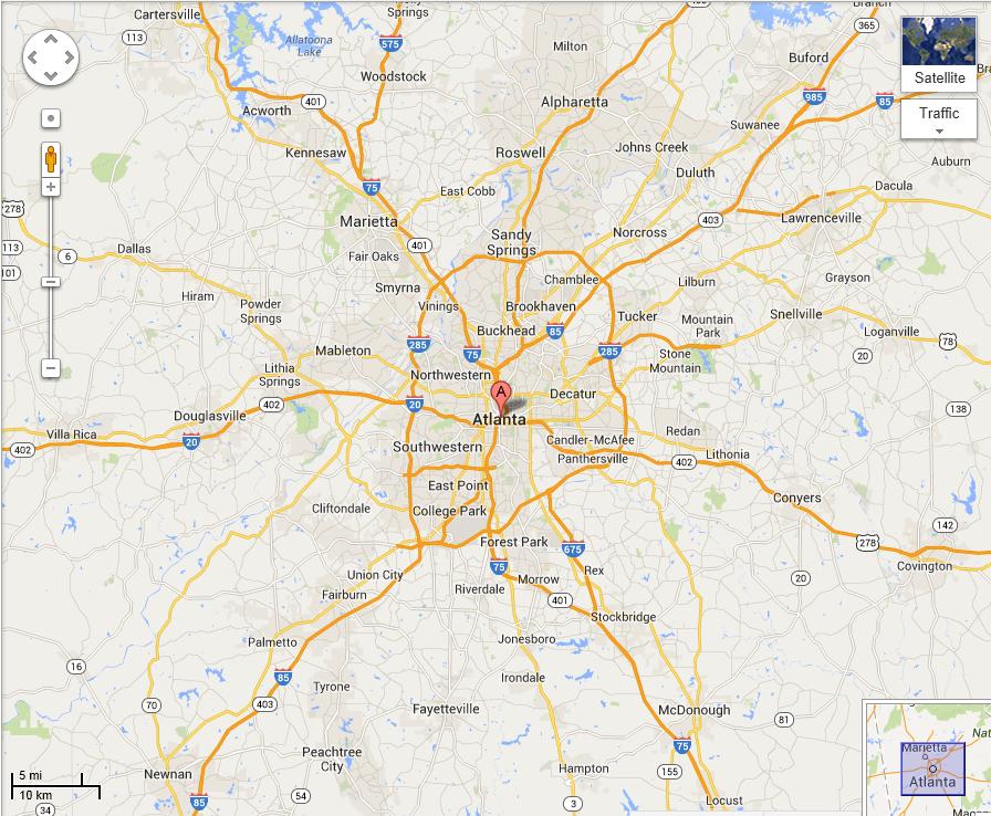 Service Area  Water Damage Atlantas